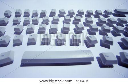 Messy Keyboard