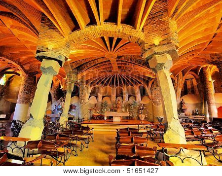 Church In Colonia Guell