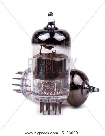 Vacuum radio tubes