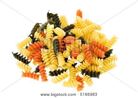 Tri Colored Rotini Pasta