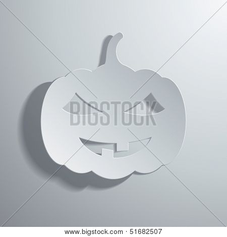 Stock illustration on a Halloween theme
