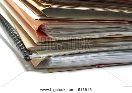 Heap Of Coloured Files