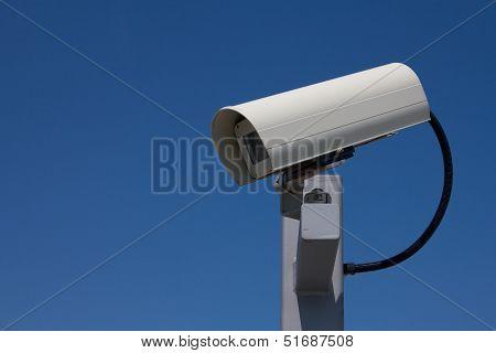 Surveillance Camera Facing Left Landscape