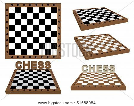 Set Of Chessboards