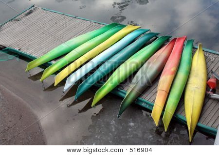 Colourful Kayaks 1