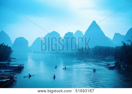 The Scenery Of Guilin Is World-renowned