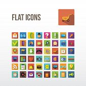 picture of universal sign  - Set of web icons - JPG