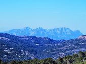 stock photo of mola  - Montserrat Mountains  - JPG