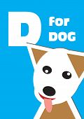 D For The Dog, An Animal Alphabet For The Kids