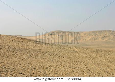 Egyptian Desert In Giza