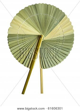 Palm-leaf fan