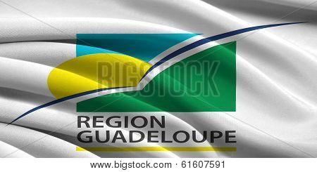 Flag Of Region Guadeloupe