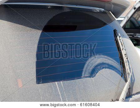 Dirty Rear Window