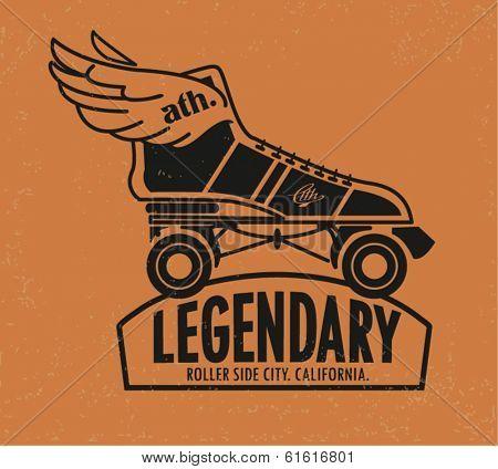 champs athletics league sport roller skate 2