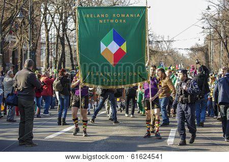 Ireland - Romania Network Sign