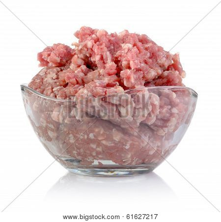 Minced Meet In Bowl