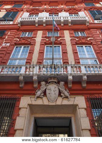 Palazzo Rosso In Genoa Italy