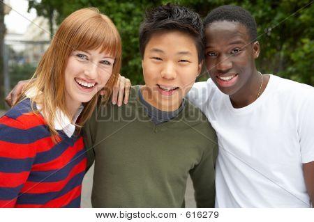 3 Kulturen zusammen