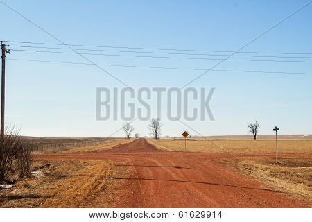 Red dirt crossroads