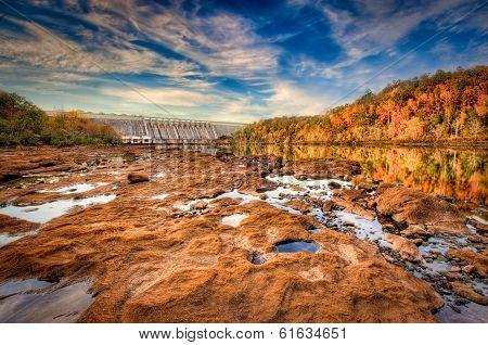 Hartwell Dam In SC