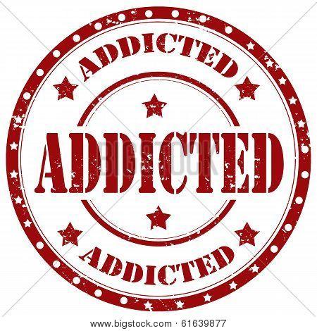 Addicted-stamp
