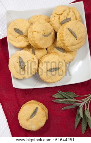Sage Biscuits Side Dish