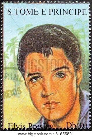 Presley S.tome Stamp#6