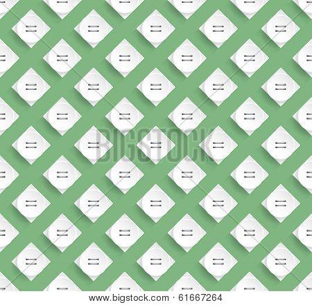 Stylish Pattern Design With Greenish Background