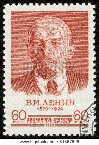Stamp With Lenin, Macro