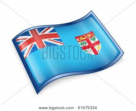Fiji Flag Icon.