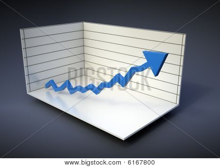 3D graph illustration