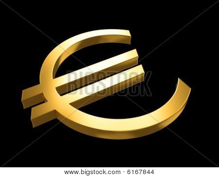 The Euro sign
