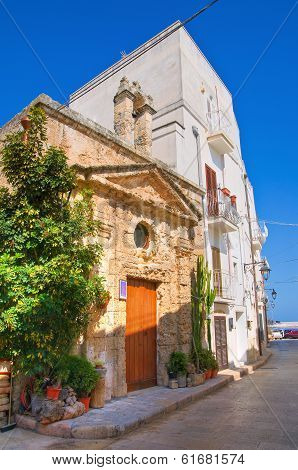 Church of St. Vito. Monopoli. Puglia. Italy.