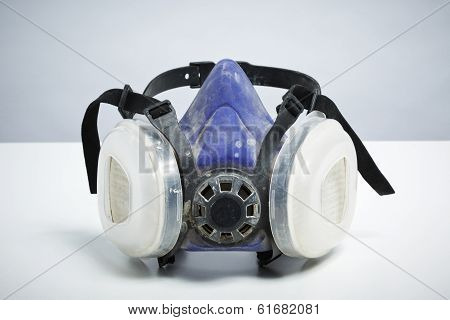 Do It Yourself Respirator Isolated On White Background