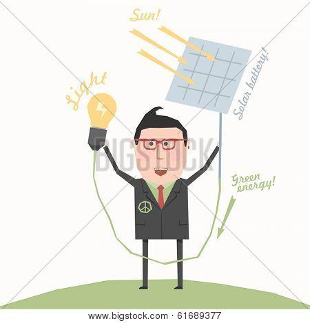 Business concept - solar