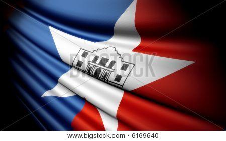 Flag of San Antonio (USA)