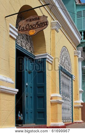 Store in Trinidad Historical Town