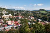 stock photo of banska  - Banska Stiavnica town in Slovakia  - JPG