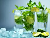 stock photo of mojito  - drink - JPG