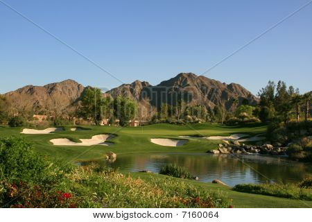 Palm Springs resort golf course