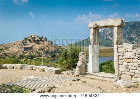 Kaunos ancient town