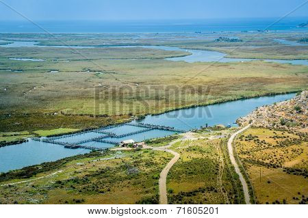 Dalyan river valley