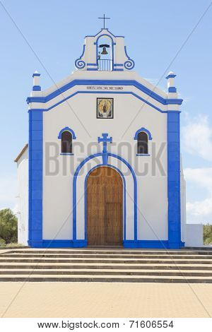 Small Church In Ayamonte, Huelva. Spain