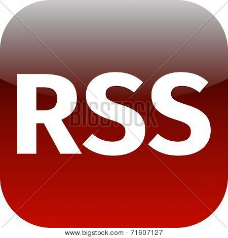 Rss Feed Red Icon