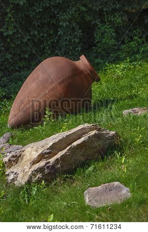 Brown amphora