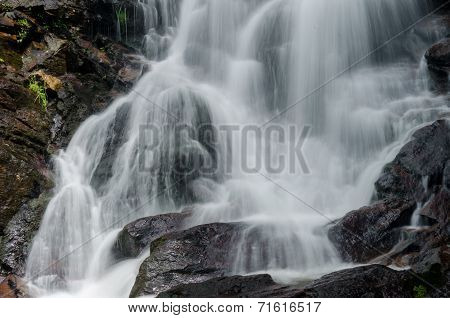 Close Up Of Amicalola Falls