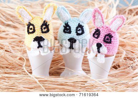 Three Egg Rabbit Warmers