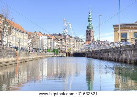 Channels Are In City Copenhagen
