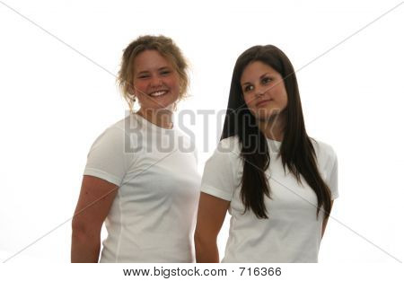 Two T-shirt Friends