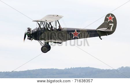 Historical Soviet Airplane